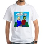 Zombie Dating White T-Shirt
