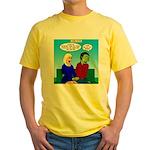 Zombie Dating Yellow T-Shirt
