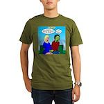Zombie Dating Organic Men's T-Shirt (dark)