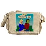 Zombie Dating Messenger Bag