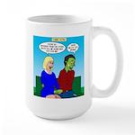 Zombie Dating Large Mug