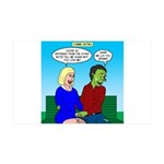 Zombie Dating 35x21 Wall Decal