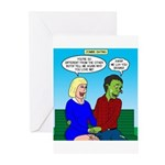 Zombie Dating Greeting Cards (Pk of 10)