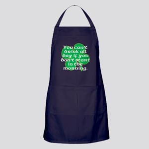 Start In the Morning Apron (dark)