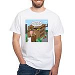 Giant Squid Trap White T-Shirt