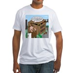 Giant Squid Trap Fitted T-Shirt