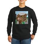 Giant Squid Trap Long Sleeve Dark T-Shirt
