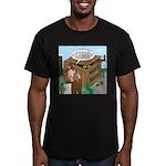 Giant Squid Trap Men's Fitted T-Shirt (dark)