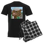 Giant Squid Trap Men's Dark Pajamas