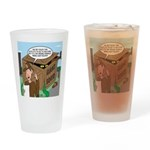 Giant Squid Trap Drinking Glass