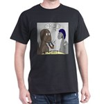 T-Rex Dining Dark T-Shirt