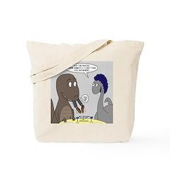 T-Rex Dining Tote Bag