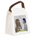T-Rex Dining Canvas Lunch Bag
