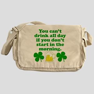 Start In the Morning Messenger Bag