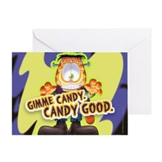 Garfield Gimme Candy Greeting Card