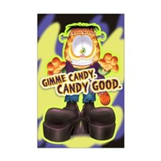 Garfield Gimme Candy Mini Poster Print