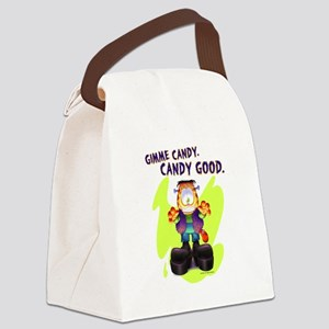 Garfield Gimme Candy Canvas Lunch Bag