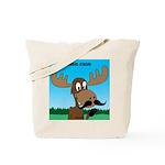 Moose-Stache Tote Bag