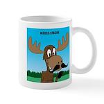 Moose-Stache Mug