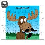 Moose-Stache Puzzle