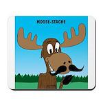 Moose-Stache Mousepad