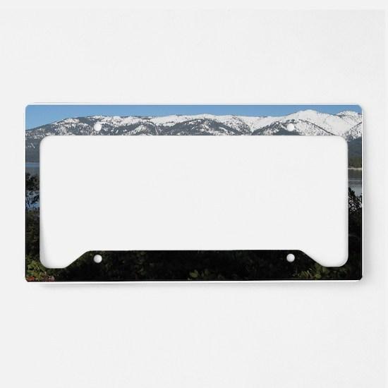 North Lake Tahoe, Incline Vil License Plate Holder