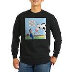 Scout Meets Cow Long Sleeve Dark T-Shirt