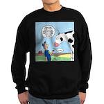 Scout Meets Cow Sweatshirt (dark)