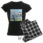 Scout Meets Cow Women's Dark Pajamas