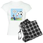 Scout Meets Cow Women's Light Pajamas