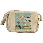 Scout Meets Cow Messenger Bag