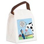 Scout Meets Cow Canvas Lunch Bag
