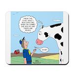 Scout Meets Cow Mousepad