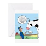 Scout Meets Cow Greeting Cards (Pk of 20)