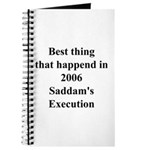 Saddam's Execution Best Thing in 2006 Journal