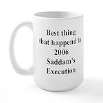 Saddam's Execution Best Thing in 2006 Large Mug