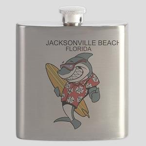 Jacksonville Beach, Florida Flask