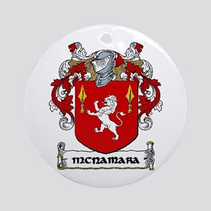 McNamara Coat of Arms Ornament (Round)