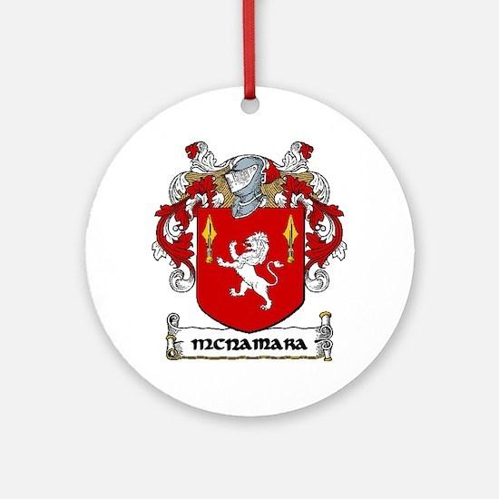McNamara Coat of Arms Ornament (Round)