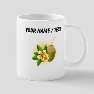 Custom Coconut Drink Mugs