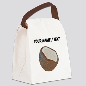 Custom Coconut Shell Canvas Lunch Bag