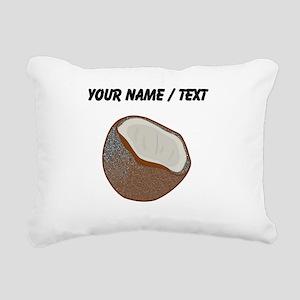Custom Coconut Shell Rectangular Canvas Pillow