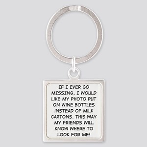 Wine Bottle Missing Keychains