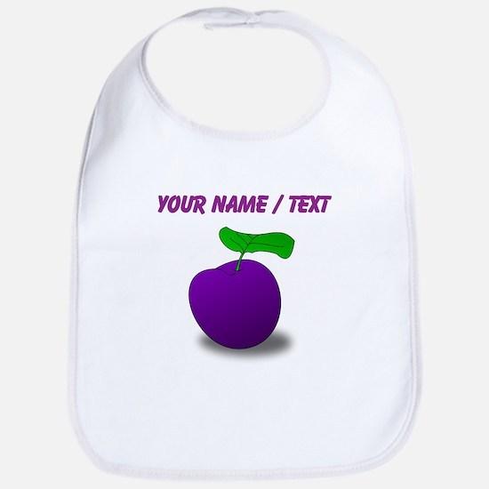 Custom Purple Plum Bib