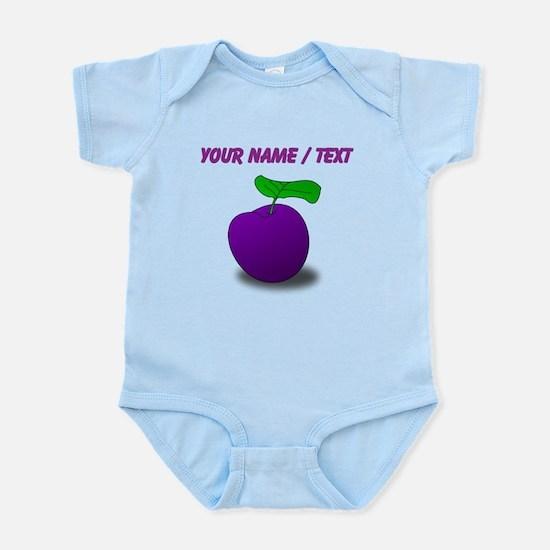 Custom Purple Plum Body Suit