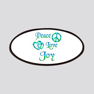 Peace Love Joy Patches