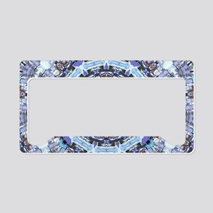 Hippy Pattern License Plate Holder