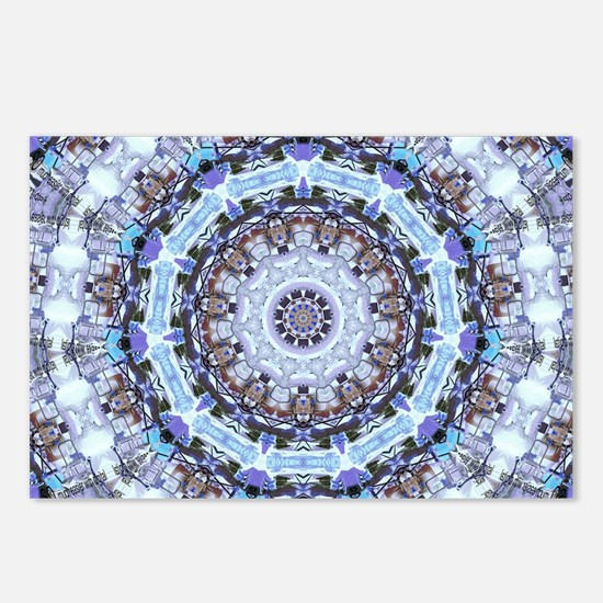 Hippy Pattern Postcards (Package of 8)