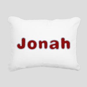 Jonah Santa Fur Rectangular Canvas Pillow