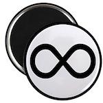 Infinity Symbol Math Notation Magnet